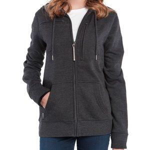 Baubax Unisex Gray & Black Travel Jacket Sz Medium